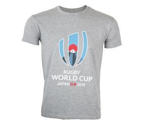 T-shirt Coupe du Monde du Rugby 2019 Gris
