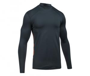 Tee-shirt de compression ColdGear® Reactor manches longues Gris