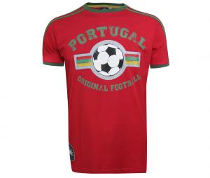 T-Shirt College Portugal Rouge