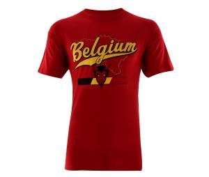 T-Shirt Belgique Rouge