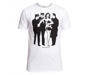 Tee-shirt Rugby Division Streaker Blanc