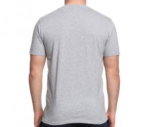 Tee-shirt Maison Rugby Close Up Gris