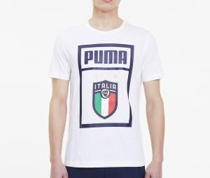 T-shirt Italie DNA Blanc
