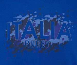 Tee-shirt Supporter Italie FIR Bleu
