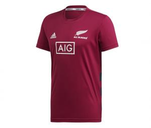 T-shirt All Blacks Performance Primeblue Rouge