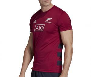 T-shirt All Blacks Performance Primeblue Rouge