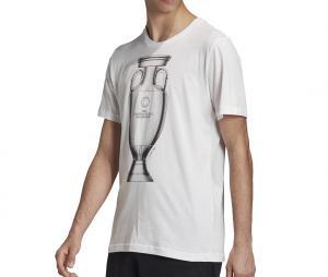T-shirt UEFA Emblem Blanc