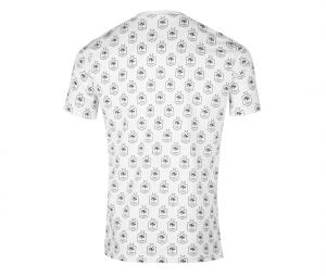 T-shirt France All Over Blanc