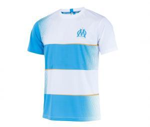 T-shirt OM Fan Sublime  Blanc/Bleu