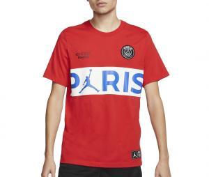 T-shirt Jordan x PSG Rouge