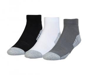 Pack de 3 paires de chaussettes HeatGear ® Tech Lo Cut Junior Noir/Gris/Blanc