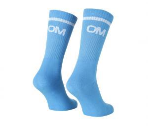 Set of 3 pairs of Blue OM Socks