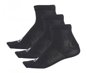Pack 3 chaussettes performance No Show Thin noir