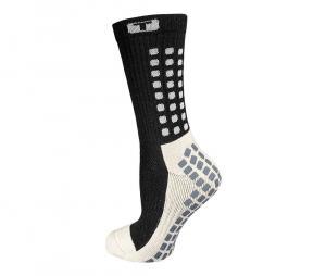 Chaussettes antidérapantes Mid-calf Cushioned noir