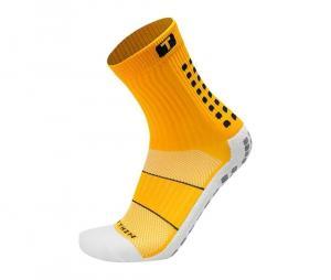 Chaussettes antidérapantes Mid-calf Cushioned jaune