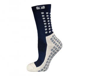 Chaussettes antidérapantes Mid-calf Cushioned bleu
