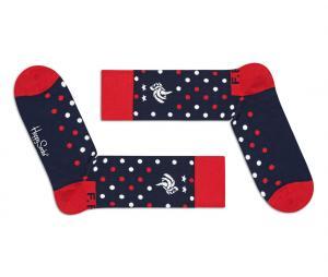 Paire de chaussettes Happy Socks France Bleu
