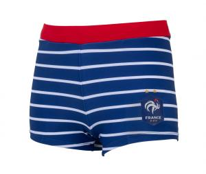 Boxer de bain France Tricolore Bleu Junior