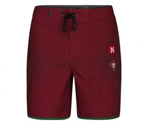Short de Bain Portugal Hurley Rouge
