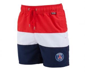 Short de Bain PSG Rouge/Blanc/Bleu