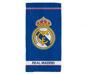 Drap de Plage Real Madrid Logo Bleu