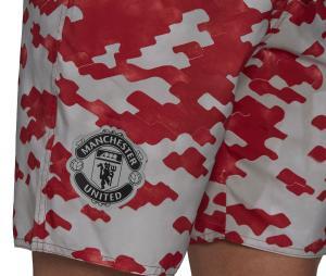 Short de bain Manchester United Rouge/Blanc