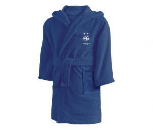 Peignoir France Nation 2 Etoiles Bleu Junior