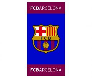 Drap de plage Barça Bleu/Rouge