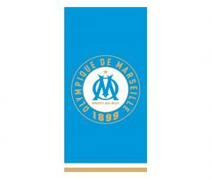 Drap de plage OM Equipe 75 x 150 cm Bleu