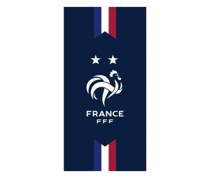 Serviette de Plage France 2 étoiles Bleu