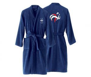 Peignoir France Champions du Monde Bleu