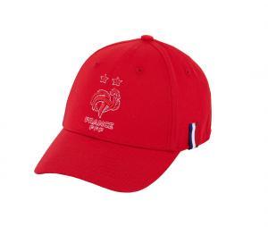 Casquette France Logo Rouge Junior