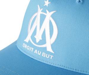 Casquette OM Fan Bleu Junior