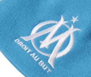 Bonnet OM Pompon Bleu Junior