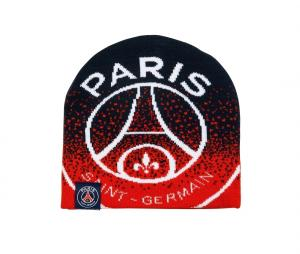 Bonnet PSG Logo Bleu/Rouge Junior
