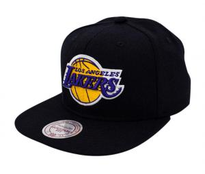 Casquette Mitchell & Ness Los Angeles Lakers Snapback Team Noir