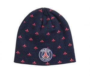 Bonnet PSG All Over Bleu Junior