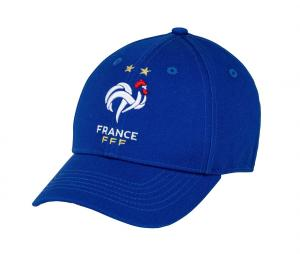 Casquette France Logo Bleu Junior