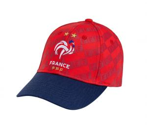 Casquette France All Over Rouge Junior