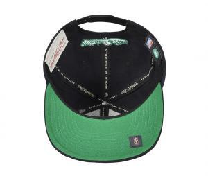 Casquette Mitchell & Ness Boston Celtics Snapback Team Noir/Vert