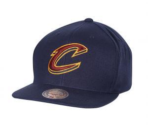 Casquette Mitchell & Ness Cavaliers de Cleveland Bleu