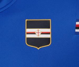 Veste à capuche Unione Calcio Sampdoria Bleu