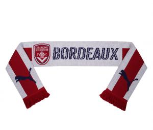 Echarpe Puma Bordeaux Rouge/Blanc