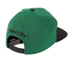 Casquette Mitchell & Ness Boston Celtics Vert/Noir