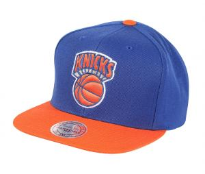 Casquette Mitchell & Ness New York Knicks Bleu/Orange