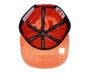 Casquette Mitchell & Ness New York Knicks Bleu/Orange