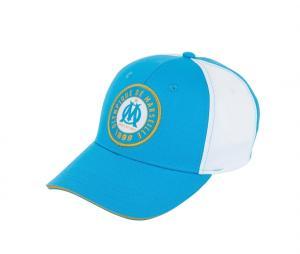 Casquette OM Logo Fan Bleu/Blanc