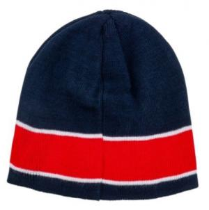 Bonnet PSG Logo Bleu/Rouge