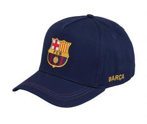 Casquette Barça Big Logo Bleu