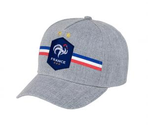 Casquette France Logo Gris